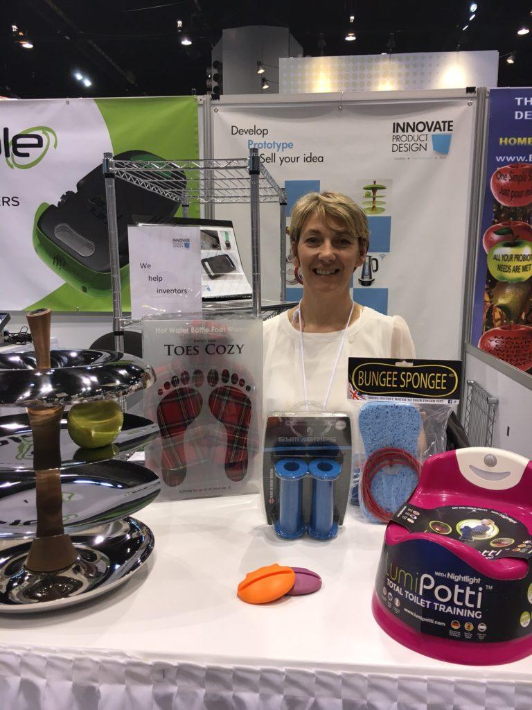 Barbara at International Home & Housewares Show