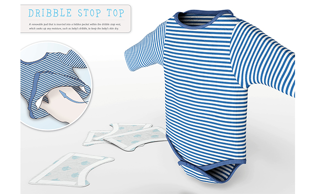 Dribble stop top innovate product design for Innovate product design